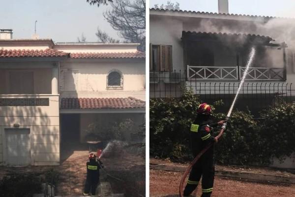 «Ακούστηκαν εκρήξεις από γκαζάκια»: Μεγάλες καταστροφές σε σπίτια και αυτοκίνητα από την πυρκαγιά στη Σταμάτα!