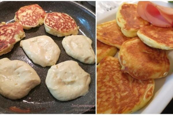 Αφράτες τηγανίτες γιαουρτιού, εύκολα, γρήγορα και μόνο με 4 υλικά - Θα γλείφετε τα δάχτυλά σας!
