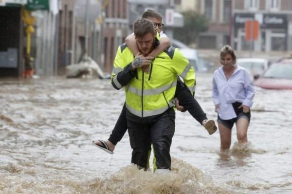 Βέλγιο - Πλημμύρες: Δώδεκα νεκροί και 5 αγνοούμενοι από τις καταστροφές