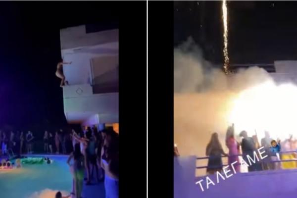 Χαλκίδα: Κορωνοπάρτι μέχρι πρωίας σε βίλα με 500 άτομα! Πυροτεχνήματα και... βουτιές από τα μπαλκόνια στην πισίνα - Τα 3 σενάρια για το 4ο κύμα (Video)