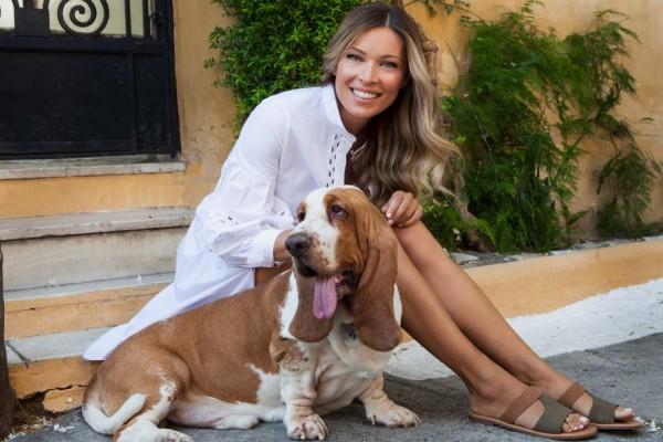 Νέα συνεργασία Μαριέττα Χρουσαλά με Hush Puppies