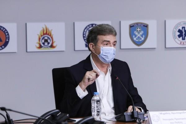Μιχάλης Χρυσοχοΐδης για φωτιές: Τα εναέρια μέσα έχουν πετάξει ήδη διπλάσιες ώρες