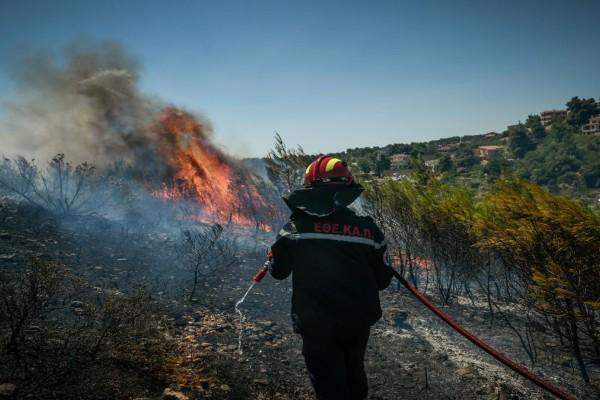 Πολύ υψηλός κίνδυνος πυρκαγιάς την Παρασκευή - Δείτε τις 5 περιοχές
