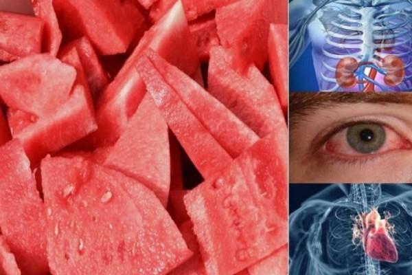 Δείτε τι θα συμβεί στο σώμα σας αν τρώτε μια φέτα καρπούζι κάθε μέρα για μια εβδομάδα! Απίστευτο!