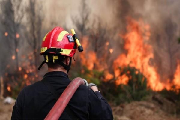 Πολύ υψηλός κίνδυνος πυρκαγιάς αύριο Πέμπτη σε Αττική - Δείτε τον Χάρτη