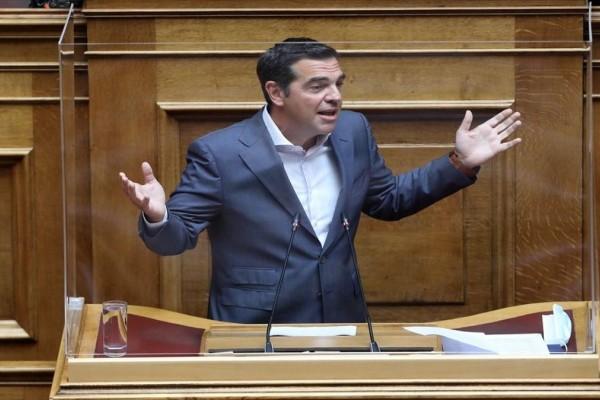 Τσίπρας: «O κ. Μητσοτάκης πήρε πίσω την ψεύτικη συγγνώμη για τις πυρκαγιές»
