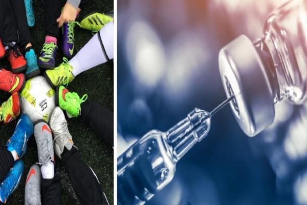 «Μπλόκο» σε ανεμβολίαστους αθλητές και προπονητές: Οι δύο τρόποι για να συμμετέχουν σε προπονήσεις και αγώνες