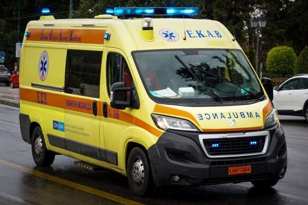 Σοκ στη Λάρισα: Άνδρας έπεσε από τον 4ο όροφο, άγνωστες οι συνθήκες της πτώσης