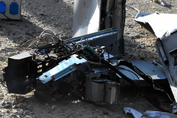Έκρηξη σε μηχάνημα ΑΤΜ στην Κέρκυρα – Προκλήθηκε φωτιά