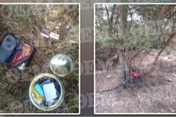 Φωτιά στην Βαρυμπόμπη: Εμπρηστικός μηχανισμός βρέθηκε στο δάσος - Απίστευτες φωτογραφίες από το σημείο