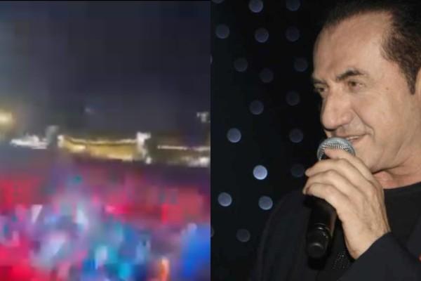 Πανικός για τον ΛεΠα: Απίστευτος συνωστισμός με 10.000 άτομα σε συναυλία του τραγουδιστή