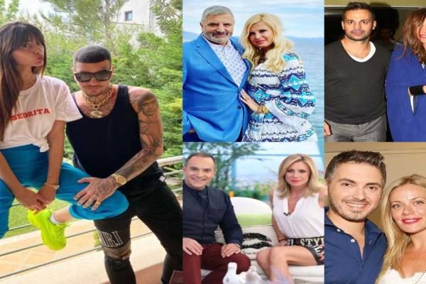 9+1 διάσημα ζευγάρια της ελληνικής showbiz που χώρισαν μέσα στο 2021
