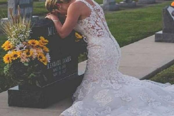 27χρονη πήγε ντυμένη νύφη στο νεκροταφείο - Η σπαρακτική ιστορία της