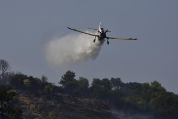 Ζάκυνθος: Έπεσε αεροσκάφος που επιχειρούσε στη φωτιά