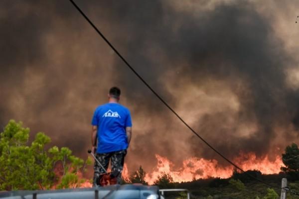 Φωτιές στην Αττική: 19 προσαγωγές υπόπτων για εμπρησμό