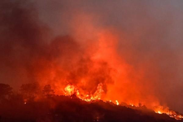 Φωτιά στην Εύβοια: Άμεση επέμβαση στο Μετόχι Καρύστου και εκκενώσεις - Τεράστιος ο κίνδυνος πυρκαγιών