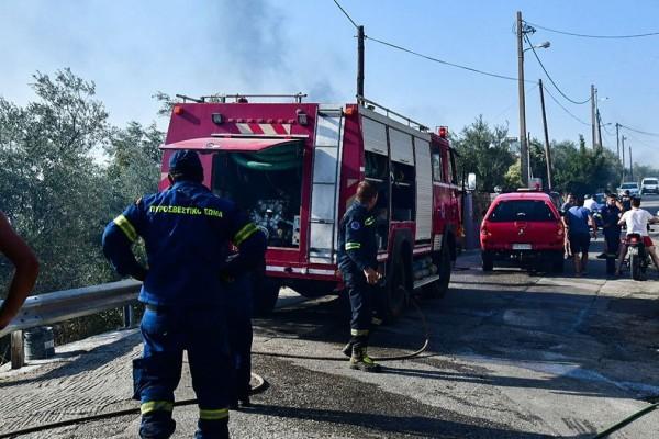 Συναγερμός στην πυροσβεστική: Φωτιά στο Παγγαίο