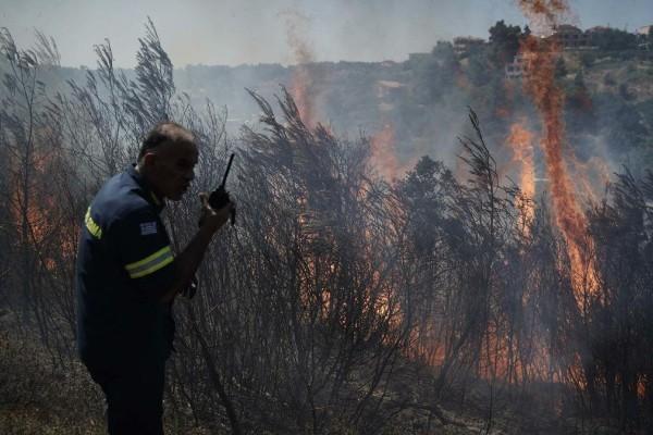 Φωτιά Αρχαία Ολυμπία: Εντολή για εκκένωση - Καίγονται σπίτια, πληροφορίες για εγκλωβισμένους