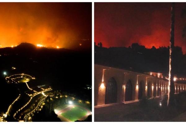 Στις φλόγες η Ελλάδα: Σώθηκε το αρχαιολογικό μουσεία στην Αρχαία Ολυμπία - Αναζωπυρώσεις σε Μεσσηνία και Εύβοια!