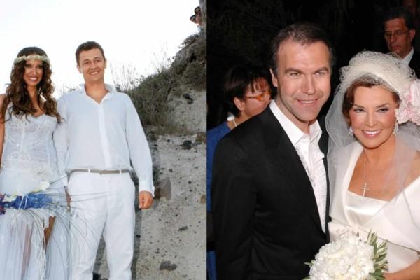6 + 1 γάμοι διάσημων Ελλήνων που διαλύθηκαν σε χρόνο ντετέ