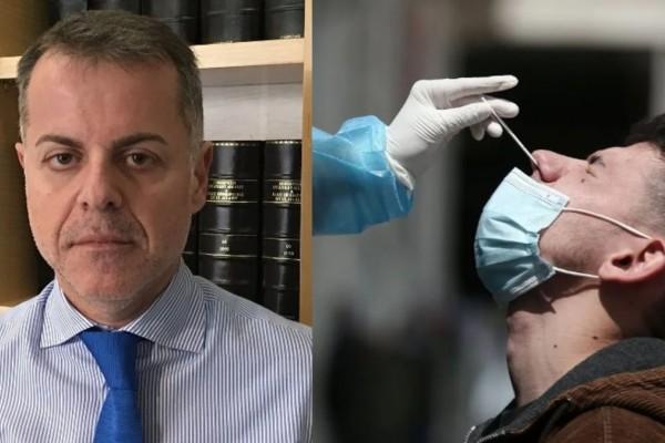 Δικηγόρος Γιάννης Καρούζος: «Παράνομο να πληρώνει ο εργαζόμενος τα rapid test»