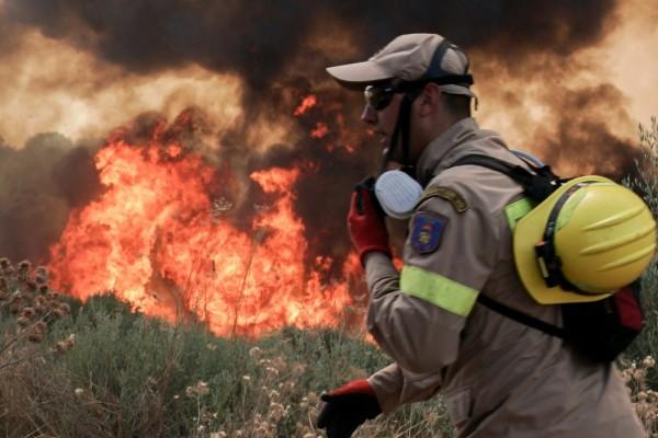 Φωτιά - Ηλεία: Επτά άτομα μεταφέρθηκαν στο κέντρο Υγείας της Αρχαίας Ολυμπίας