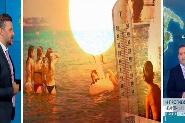 Καιρός σήμερα 1/8: Καμίνι η χώρα! Ακόμα υψηλότερες θερμοκρασίες με το