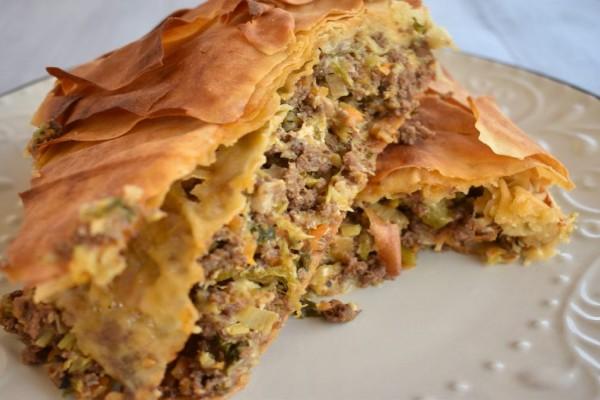 Συνταγή της τεμπέλας: Eύκολη και γρήγορη κιμαδόπιτα!