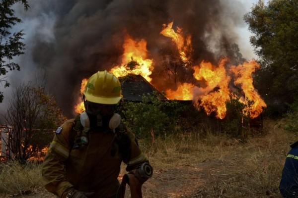 Υψηλός κίνδυνος πυρκαγιάς τη Δεύτερα σε πέντε περιοχές