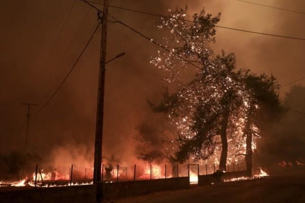 Μεγάλος κίνδυνος πυρκαγιών σε Αττική και Εύβοια την Κυριακή