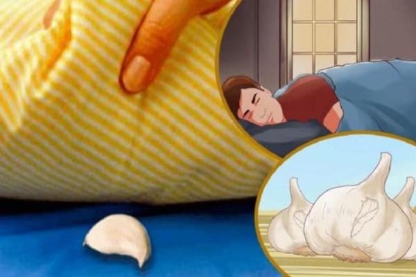 Για αυτό το λόγο πρέπει να βάζετε σκόρδο κάτω από το μαξιλάρι σας