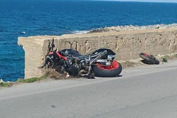 Τροχαίο στην Κρήτη: Νεκρός 50χρονος δικυκλιστής