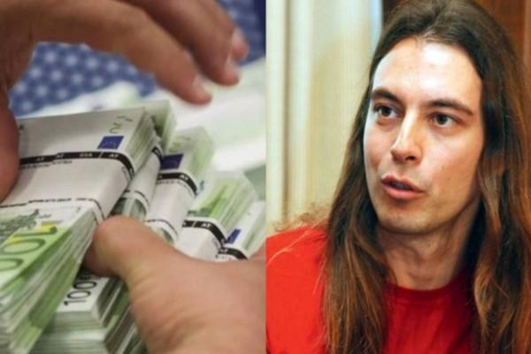 Ο βουλευτής που ήθελε «κόφτη πλούτου» στις 100.000 ευρώ, έχει καταθέσεις 184.000 ευρώ