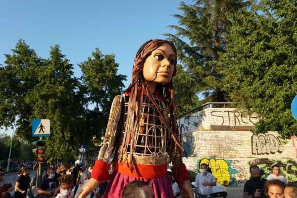 Επεισοδιακή υποδοχή της «Αμάλ» στη Λάρισα: Ματ, πέτρες και προπηλακισμοί