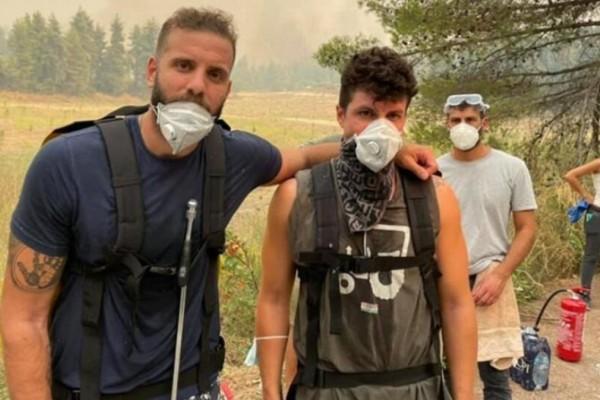 Νίκος Παππάς: Στο πύρινο μέτωπο της Εύβοιας ο γνωστός αθλητής - Οι φιλανθρωπικές του δράσεις