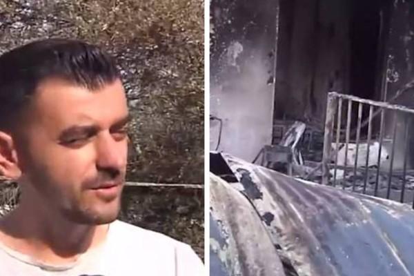 Φωτιά στη Βαρυμπόμπη: Κάτοικος ανακαίνισε το σπίτι του και 24 ώρες μετά του κάηκε!