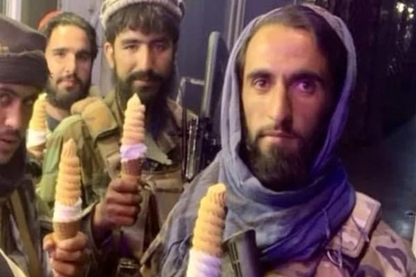 Ταλιμπάν: Η φωτογραφία με τα παγωτά που κάνει τον γύρο των social media