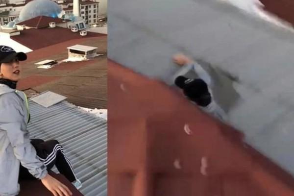 Φρικτός θάνατος! Έπεσε στο κενό από τον 9ο όροφο την ώρα που έβγαζε βίντεο για το TikTok