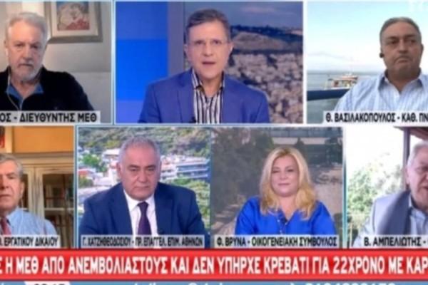 Επικός τσακωμός Βασιλακόπουλου με Καπραβέλο on air: «Μην μου κάνετε ηθικό μάθημα»