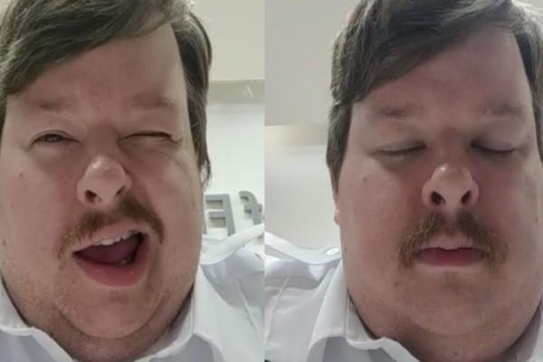 Σεκιουριτάς βιντεοσκοπεί τις κλανιές του εν ώρα εργασίας και τις ανεβάζει στο instagram - Θα κλάψετε από τα γέλια (Video)
