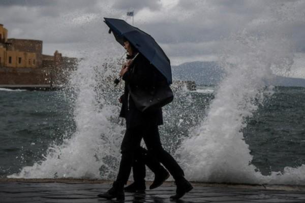 Έκτακτο δελτίο επιδείνωσης καιρού: Iσχυρές καταιγίδες τις επόμενες μέρες