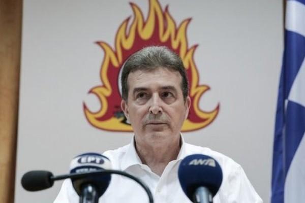 Μιχάλης Χρυσοχοΐδης: «Ήμουν με την μάνικα στο χέρι - Πυροσβέστης και επιτελικός»