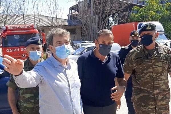 Μιχάλης Χρυσοχοΐδης - Νίκος Παναγιωτόπουλος από Έβρο: Ασφαλή και απαραβίαστα τα ελληνικά σύνορα