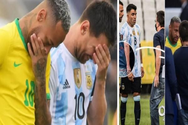 Γιατί διεκόπη το Βραζιλία-Αργεντινή; Το πρωτοφανές σκηνικό με τη σύλληψη παικτών - Το «ντου» ενόπλων πρακτόρων την ώρα του αγώνα (photo-video)