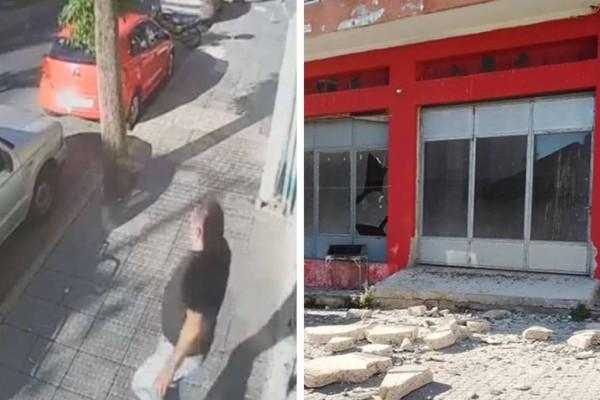 Ισχυρός σεισμός στη Κρήτη: Η στιγμή που τα 5,8 Ρίχτερ
