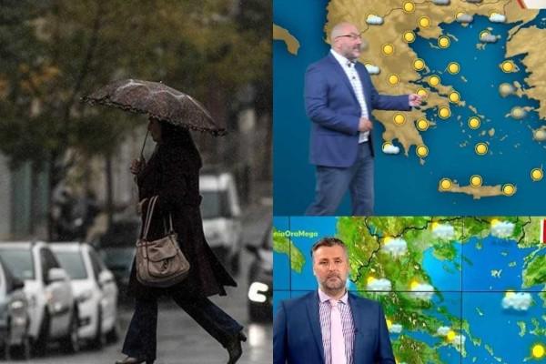 Καιρός σήμερα 21/9: Ζήτω... η τρέλα με βροχές, καταιγίδες και πολύ κρύο μετά τον καύσωνα - Τι λένε Αρναούτογλου και Καλλιάνος