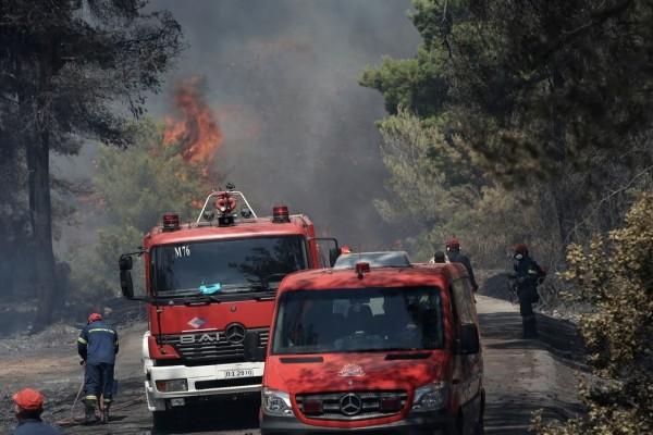 Προσοχή! Σε αυτές τις περιοχές είναι πολύ υψηλός ο κίνδυνος πυρκαγιάς για αύριο (3/09)