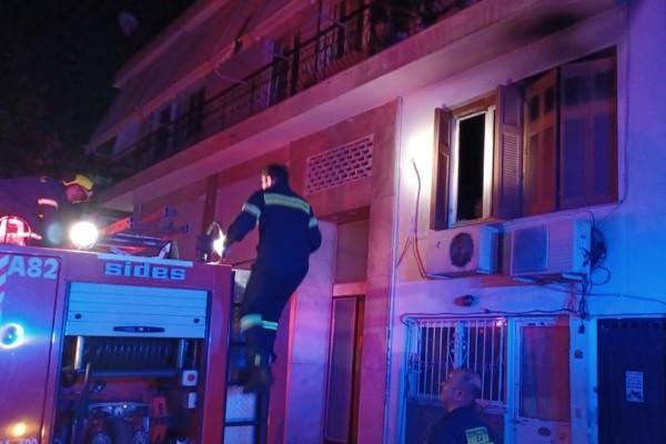 Άγιος Δημήτριος: Νεκρή γυναίκα από φωτιά σε διαμέρισμα