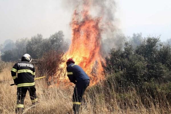 Φωτιά στις Ερυθρές Αττικής - Μεγάλος κίνδυνος σε αυτές τις περιοχές