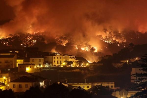 Ισπανία: Εκτός ελέγχου η φωτιά στη Γαλικία
